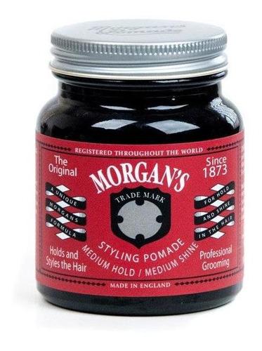 morgans pomada médium /hold medium shine 100gr