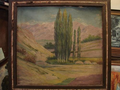 morgueto cordoba 1940 / oleo / paisaje / 80 x 9o # 1404