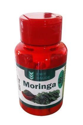 moringa oleifera 03 potes - 60 caps 600mg - atacado