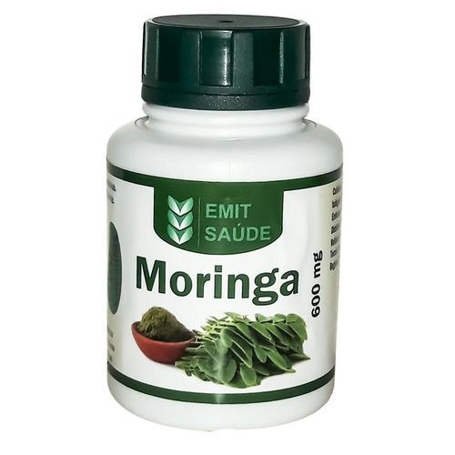 moringa oleifera 06 potes - 60 caps 600mg - atacado