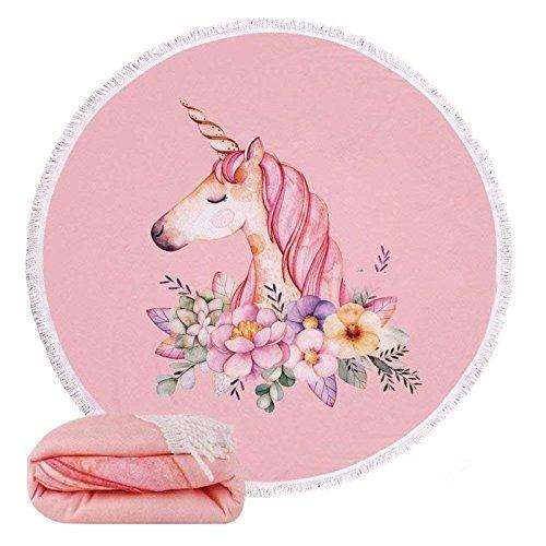morinostation unicornio toalla de playa para mujer y niña t