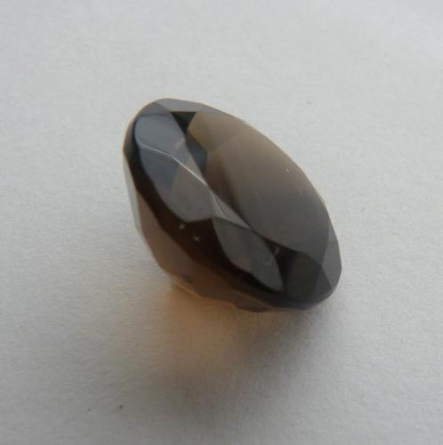 morion ou fumê natural pedra preciosa alta qualidade 2826