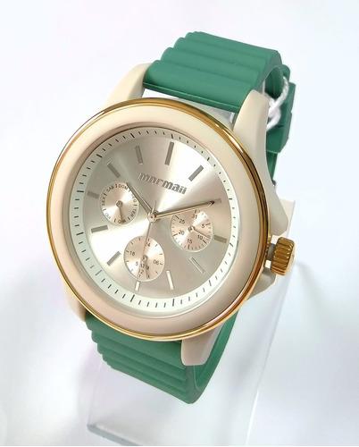b232cf916c0 Relógio Mormaii Feminino Luau - Mo6p29af 8v - R  179