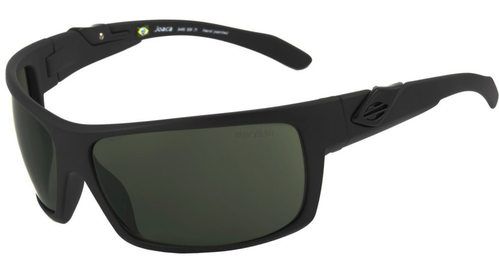 14c3cb9420242 mormaii joaca - óculos de sol preto fosco  verde g15. Carregando zoom.