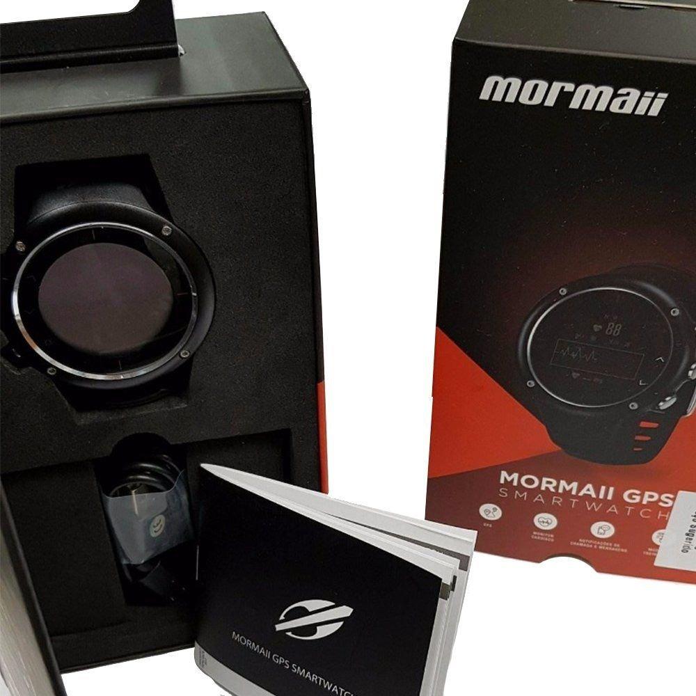 d14c6a54f0e Relógio Mormaii Masculino Smartwatch Mos23 8c - R  764