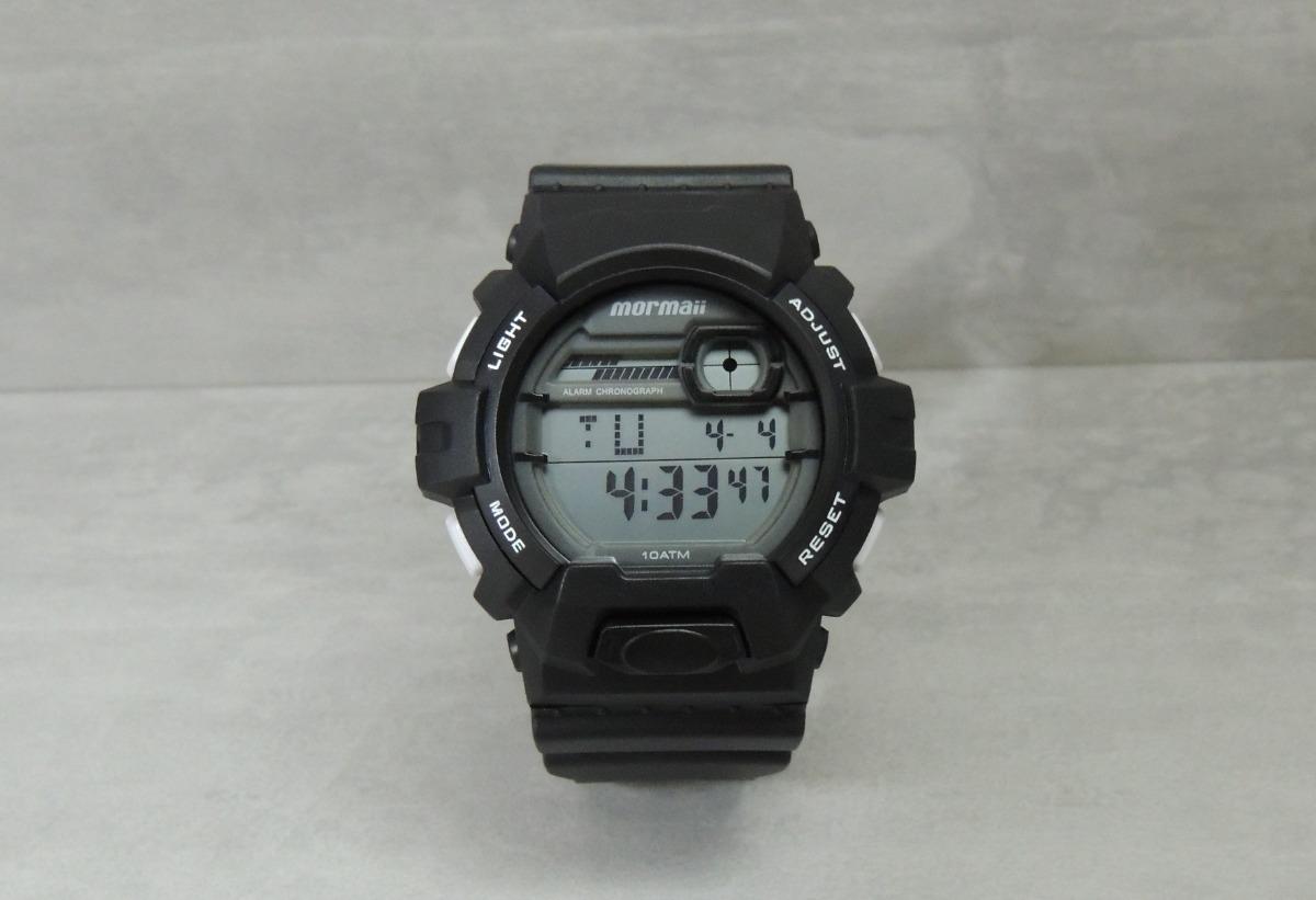235c7aee45998 Carregando zoom... relógio mormaii masculino modelo  mom08090 8b - nota  fiscal