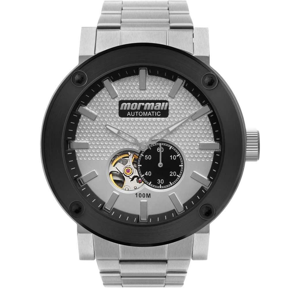 5e78a1435dfa7 Relógio Mormaii Masculino Automatic Mo82s0aa 3k - R  415