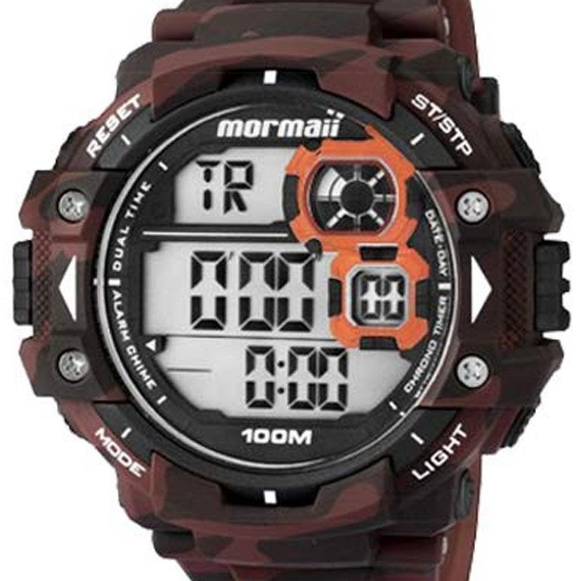 e7bf6da9e61 Relógio Mormaii Masculino Digital Mo13609a 8r - R  192