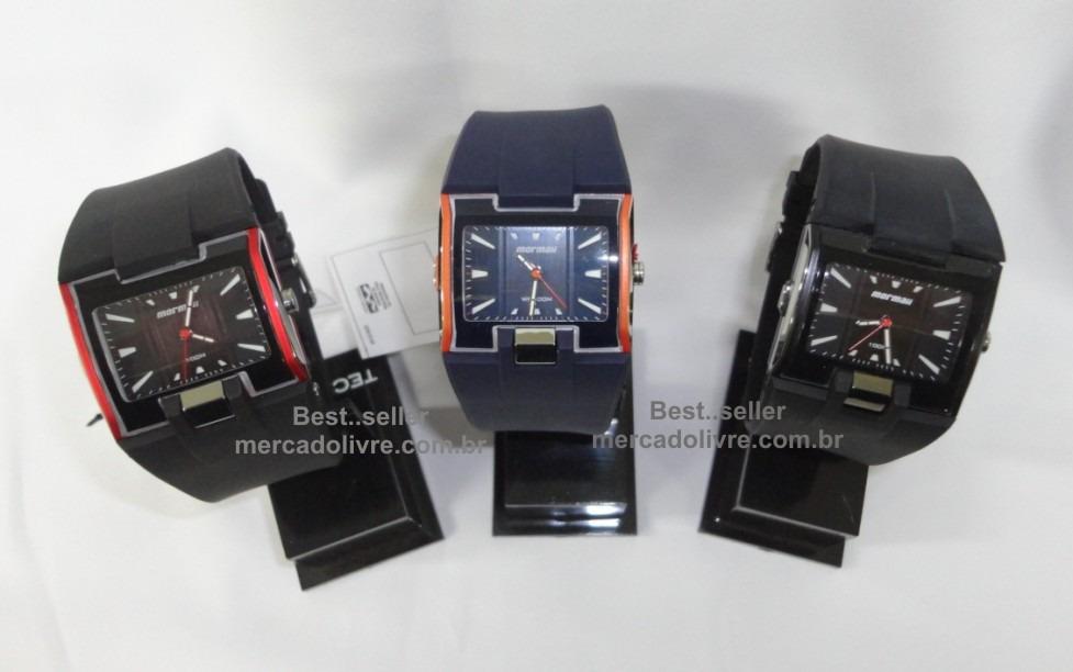 Relógio Mormaii Bt098 8r Bt098 Bt098a Frete Grátis Pulso - R  175,00 ... cb8aba69f6