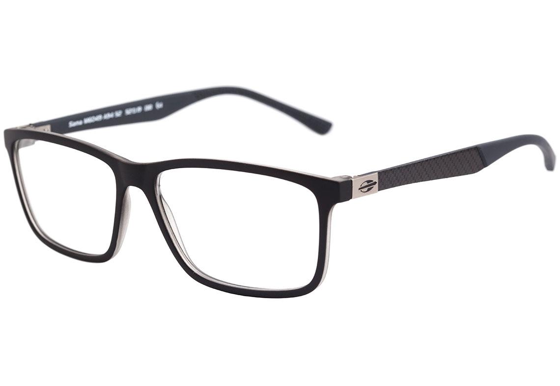54eba13b55e5b mormaii sama - óculos de grau preto e cinza fosco - lente. Carregando zoom.