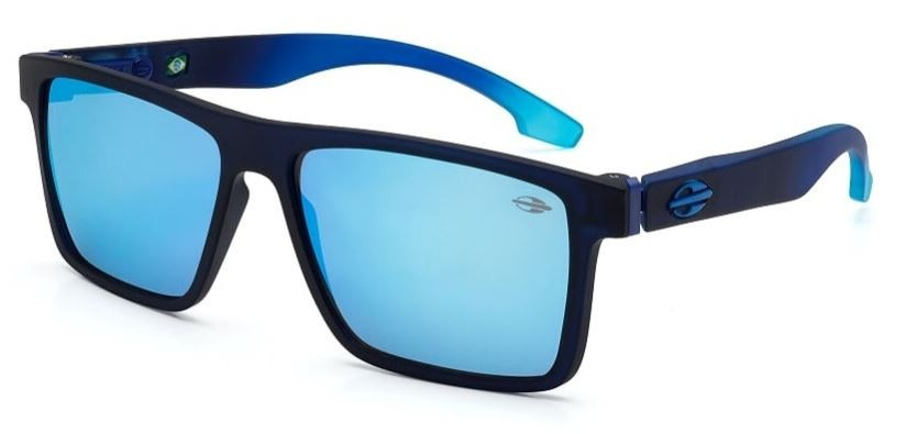 606b65ed468b8 Carregando zoom... óculos mormaii banks espelhado azul escuro sol monterey