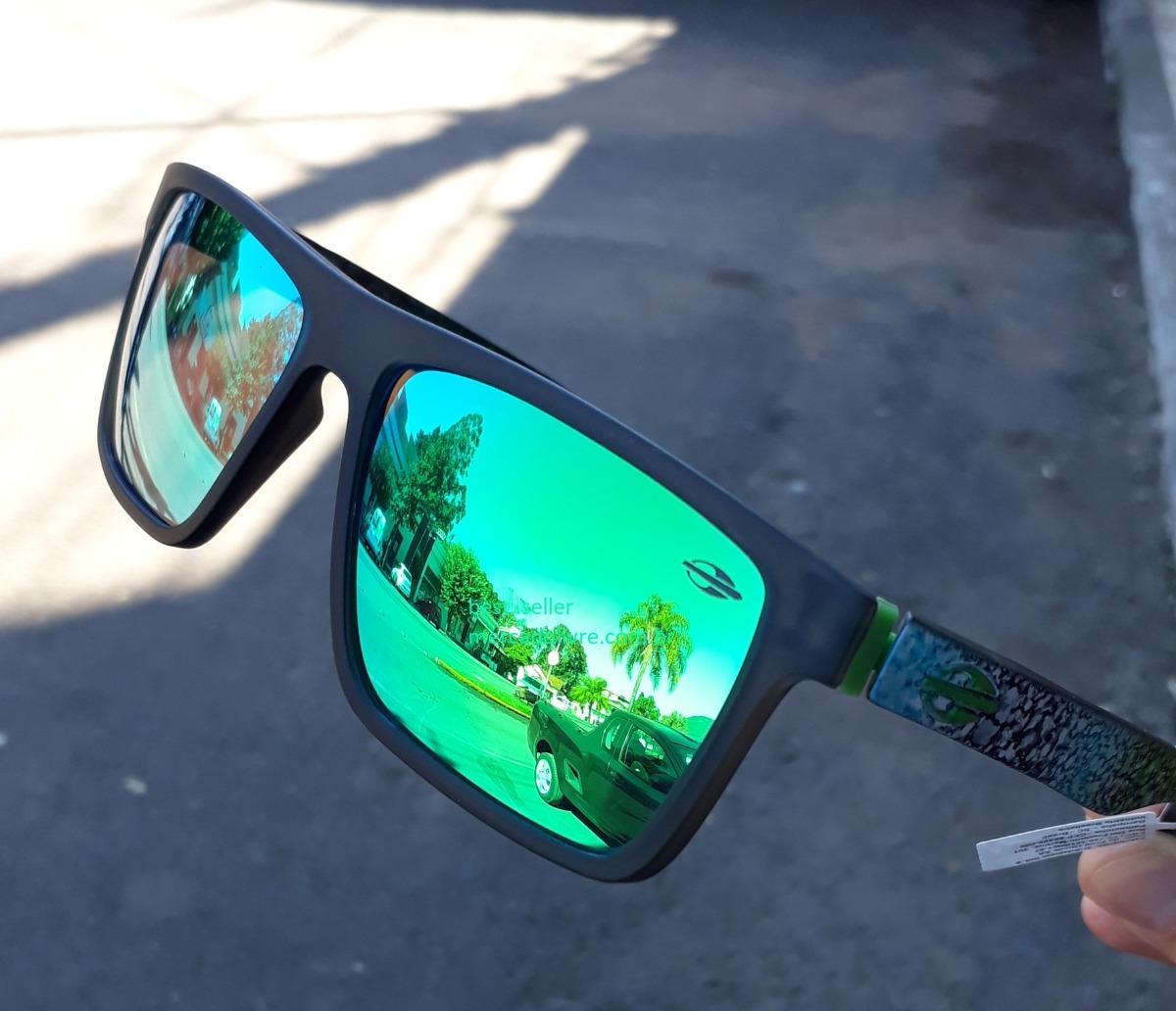 14f3baa7d4582 Carregando zoom... óculos mormaii banks espelhado verde marmore sol monterey
