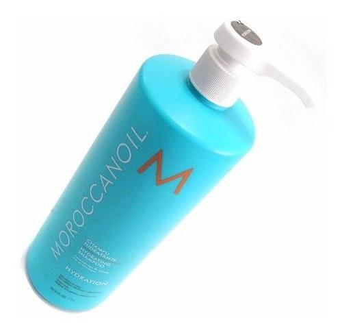 moroccanoil hydration shampoo hidratante sin sulfatos 1000ml