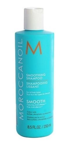 moroccanoil smooth shampoo anti frizz alisador argan 250 ml