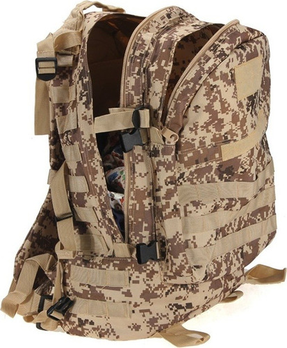 morral 3d 36 litros táctico militar camuflado impermeable