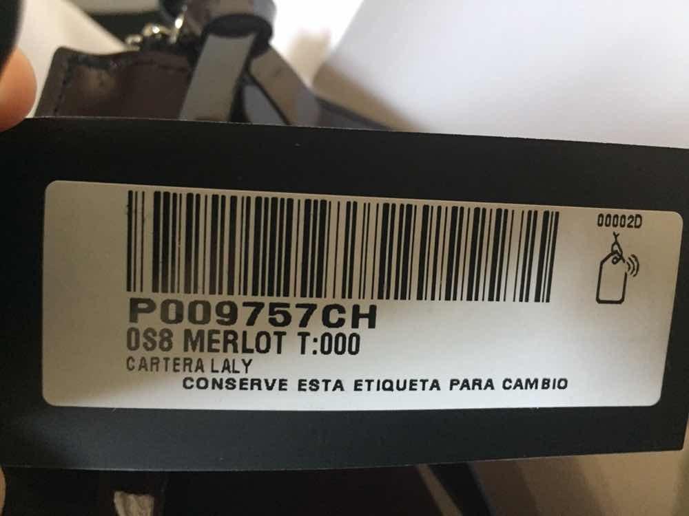 e7e5b5565 morral bandolera prune - laly . nueva! con ticket de cambio. Cargando zoom.