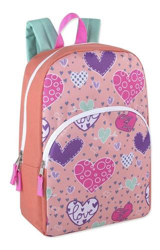 morral bolso escolar para niña mediano importado de calidad