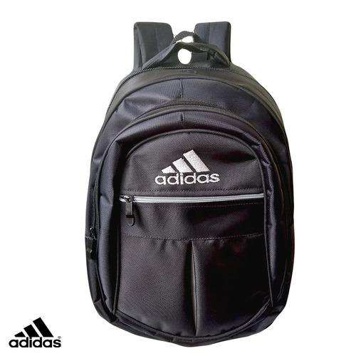 morral bolso escolar totto adidas negro mayor y detal