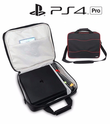 morral bolso maletin consola ps4 pro maleta playstation 4