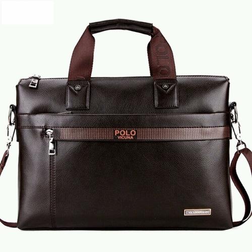 morral bolso maletin maleta vicuna polo cuero hombre calidad