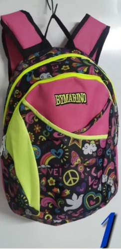 morral bymarino original bolso impermeble mod. rush