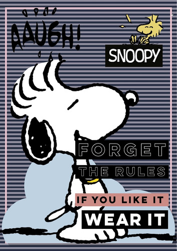 morral cartera snoopy licencia original snp-339