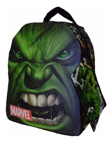 morral + cartuchera comic hulk marvel maleta avengers