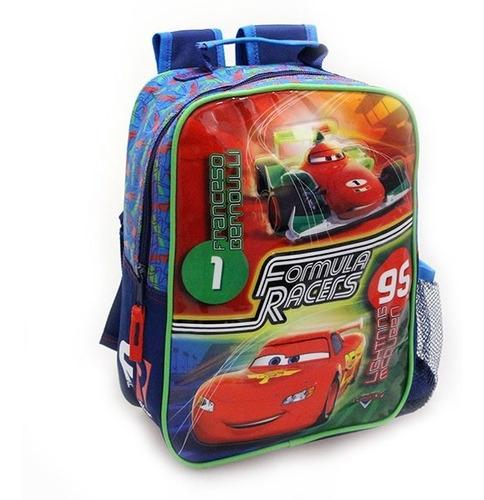 morral escolar pequeño, para niño. cars, original disney