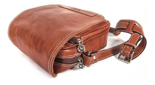 morral hombre cuero bolso viaje porta documentos organizador modelo 0962