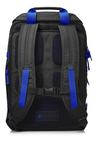 morral hp odyssey negro/azul 39,62/15,6 y5y50aa