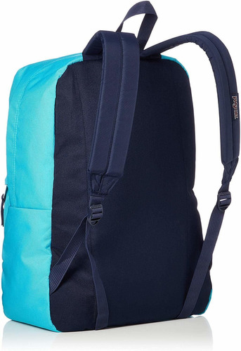 morral jansport backpack, peacock blue