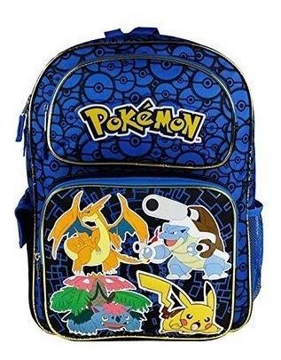 morral maleta  pokémon de vuelta a clase, 16 pulgadas), w847