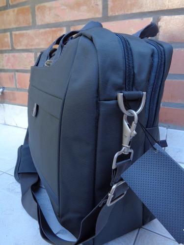 morral portafolio uniform porta notebook maletin original 2