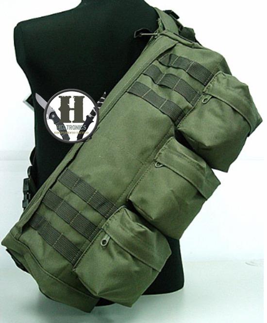 7b7d23a622 Morral Tactico Delta Molle Verde Militar Bg51946 Grande -   999