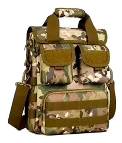 morral táctico maletín molle multicam militar practico