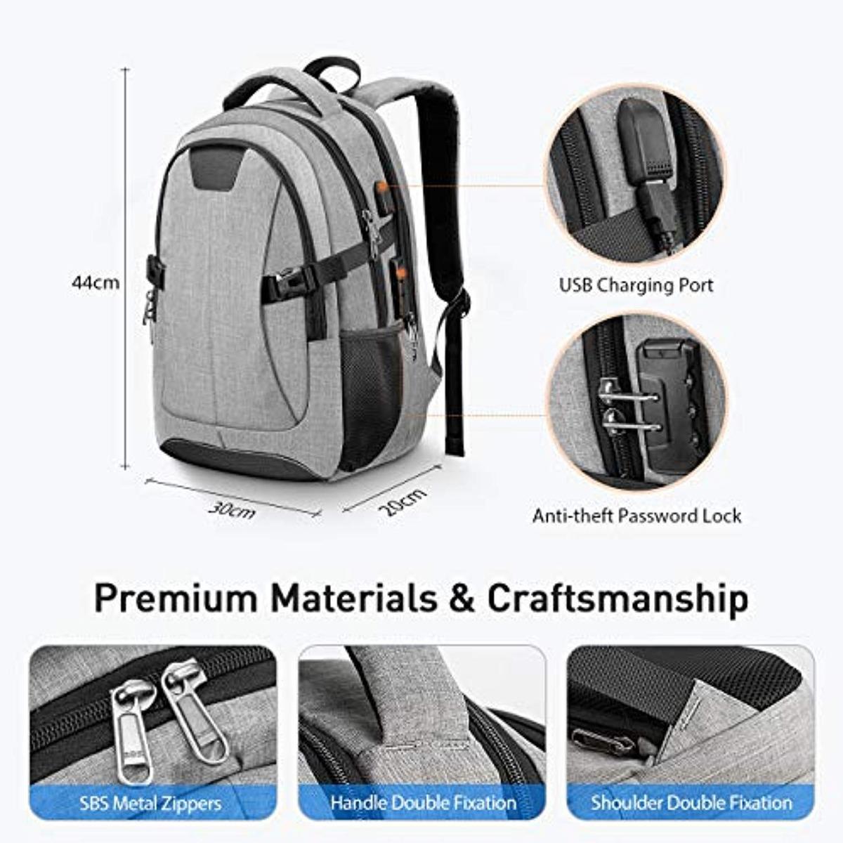 02799d96c54f Morral Travel Laptop Backpack, Pictek Anti-theft
