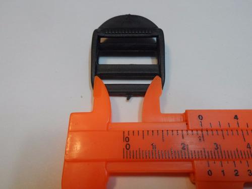 morralera 25 mm o 2.5 cms plastica
