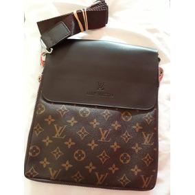 nuevo estilo bbf95 46651 Bandolera Cartera Morral Louis Vuitton Chocolate + Regalo ...