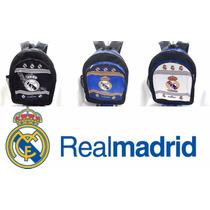 Bello Morral De Real Madrid Bulto Escolar Colegio Disney