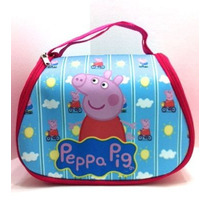Lonchera Cerda Peppa Pepa Pig P/llevar Comida Escolar