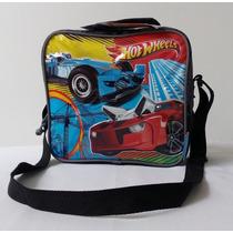 Lonchera Vianda Bolso Hot Wheels Capi, Cars Ben 10 Spiderman