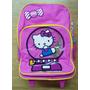 Hello Kitty Morral Maleta Grande Escolar Import Original