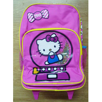 Hello Kitty Morral Maleta Grande Escolar Import Original