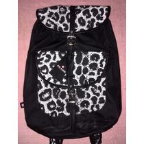 Bolso Morral Backpack Animal Print Nuevo Original Xicxoc M4