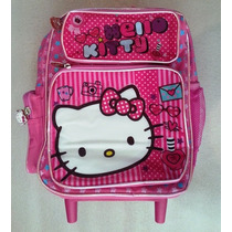 Hello Kitty Morral Maleta Peq C/ Brillo Escarchado Escolar