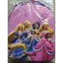 Bolso Morral De Princesas De Disney En Relieve 3d