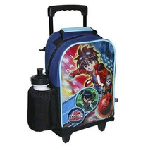 Maleta Morral Escolar Bakugan, Ben10 Cars Capi Spiderman