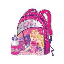Morral Grande Con Cooler Barbie Princesas Original