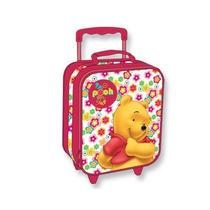 Maleta Pequeña Con Ruedas Winnie Pooh Original