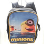 Morral Tipo Minions Spiderman Bulto Escolar Universidad